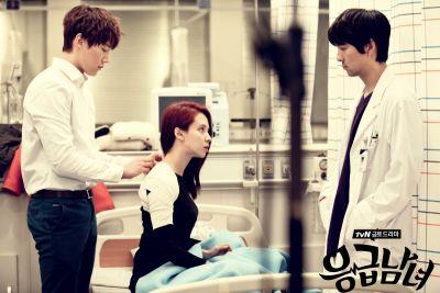 Foto Adegan Drama Emergency Couple 27