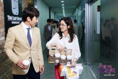 Foto adegan drama Fated to Love You 6
