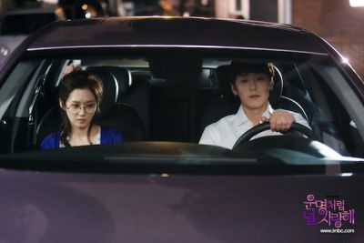 Foto adegan drama Fated to Love You 9