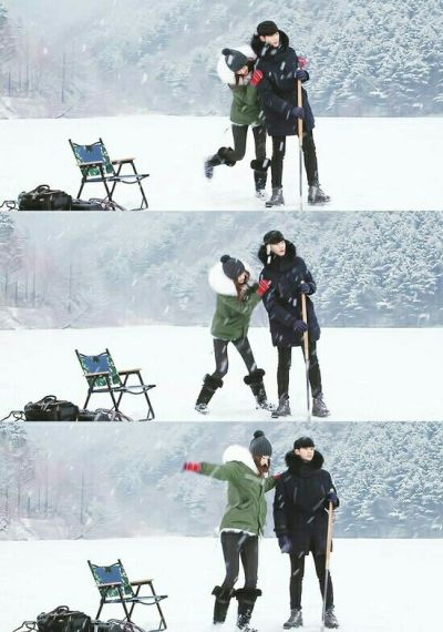 Foto-foto Kemesraan Do Min-joon dan Cheon Song-yi 3