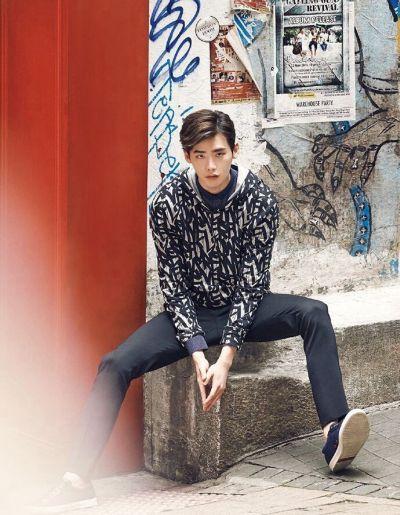 Foto Lee Jong-suk Aktor Ganteng dan Keren 32