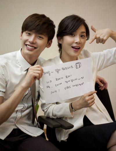 Foto Mesra Lee Jong-suk dan Lee Bo-young 10