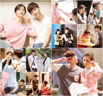 Foto Mesra Lee Jong-suk dan Lee Bo-young 13
