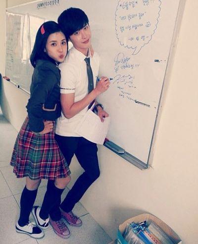 Foto Mesra Lee Jong-suk dan Lee Bo-young 14