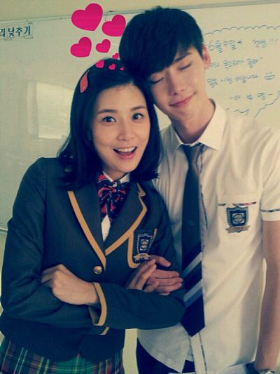 Foto Mesra Lee Jong-suk dan Lee Bo-young 2