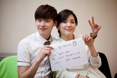 Foto Mesra Lee Jong-suk dan Lee Bo-young 3