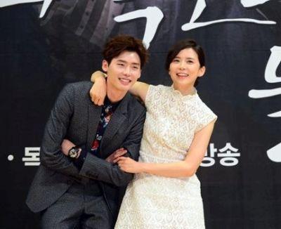 Foto Mesra Lee Jong-suk dan Lee Bo-young 6
