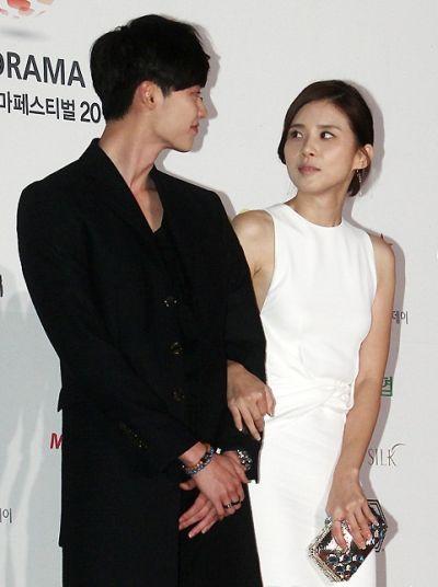 Foto Mesra Lee Jong-suk dan Lee Bo-young 8