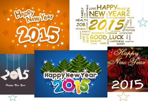 Kartu Ucapan Selamat Tahun Baru 2015