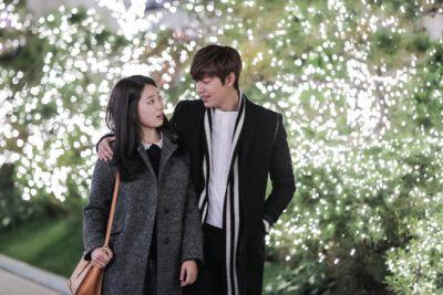 Kemesraan dan Keakraban Park Shin Hye Lee dan Min Ho 10