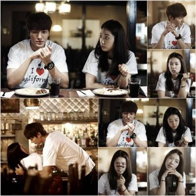 Kemesraan dan Keakraban Park Shin Hye Lee dan Min Ho 14