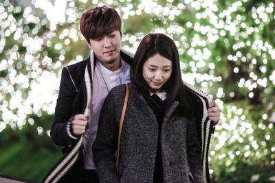 Kemesraan dan Keakraban Park Shin Hye Lee dan Min Ho 15