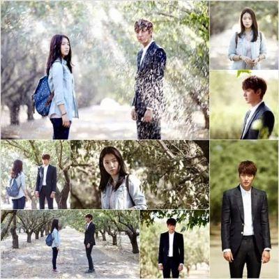 Kemesraan dan Keakraban Park Shin Hye Lee dan Min Ho 16