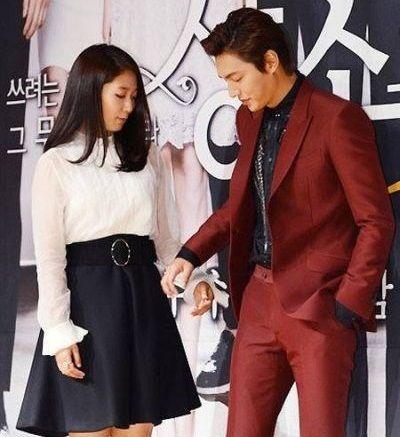 Kemesraan dan Keakraban Park Shin Hye Lee dan Min Ho 5