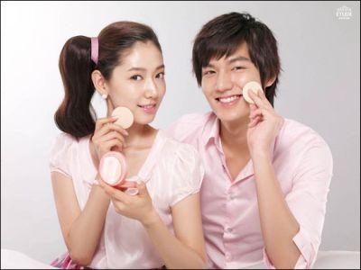 Kemesraan dan Keakraban Park Shin Hye Lee dan Min Ho 7