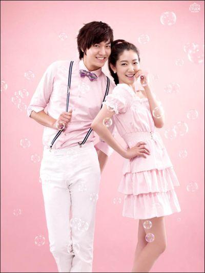 Kemesraan dan Keakraban Park Shin Hye Lee dan Min Ho 9