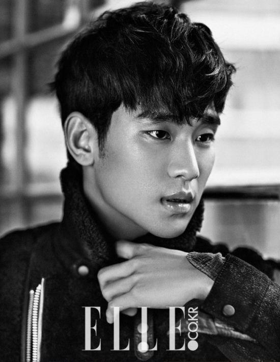Kim Soo Hyun cover majalah Elle 2