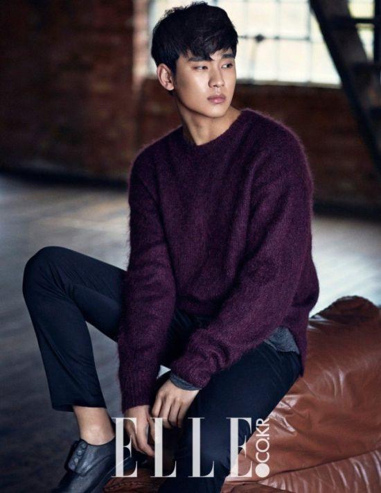 Kim Soo Hyun cover majalah Elle 3