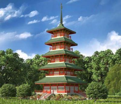 Pagoda Jepang