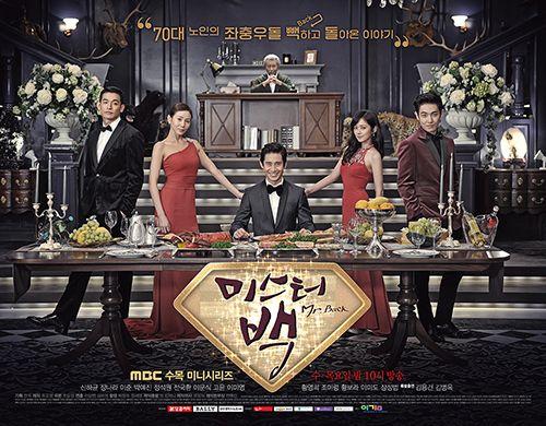 Poster Drama Mr. Back