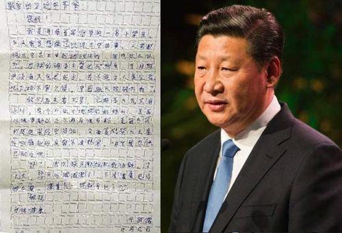 Surat pada Presiden China
