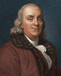 Foto Benjamin Franklin