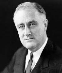 Foto Franklin Delano Roosevelt