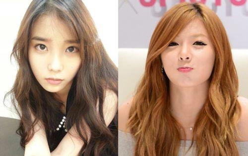 IU dan Hyuna